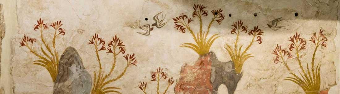 Spring fresco Akrotiri